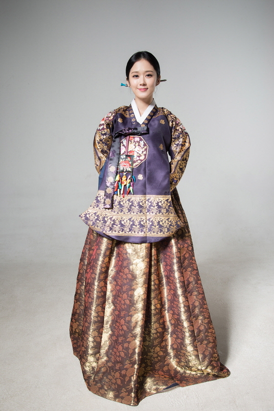 lunar hanbok Jang Nara 2