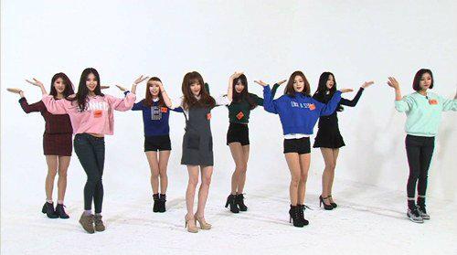 nine muses weekly idol 1