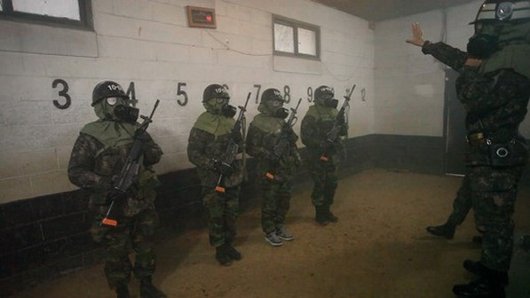 real men gas chamber