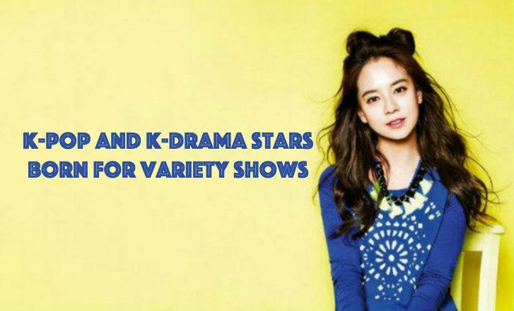 soompi K-Pop and K-Drama Stars Born for Variety Shows