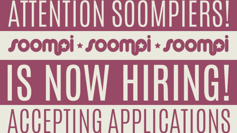 Soompi Is Hiring: Korean News Writers