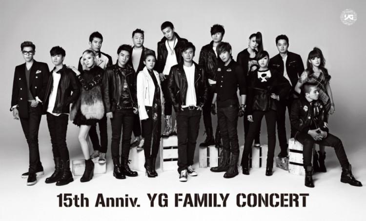 yg family concert 15th anniversary