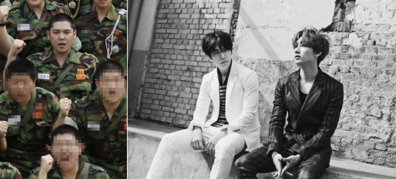 Super Junior-DE on Military