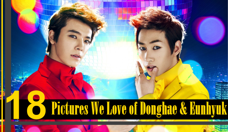 18 Pictures We Love of Donghae and Eunhyuk