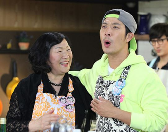 haha and mom