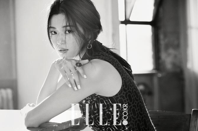 jun ji hyun elle april 2015