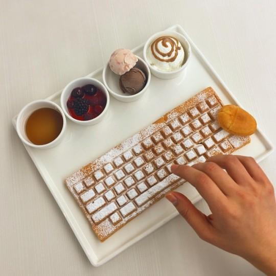 keyboard waffle korea