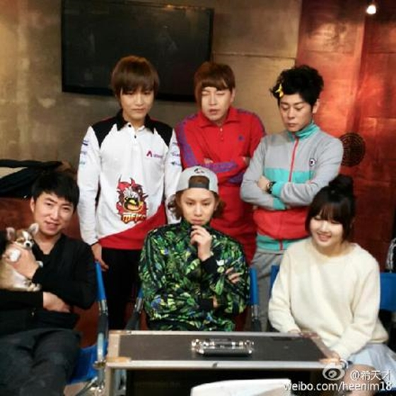 kim heechul m&d weibo