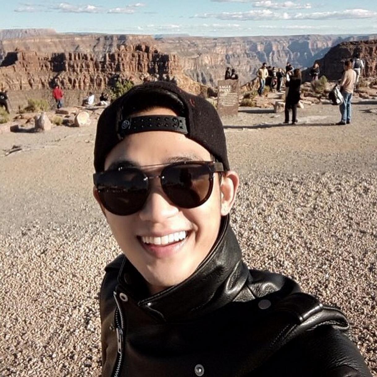 kim soo hyun instagram first post