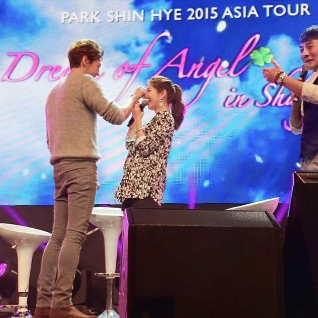 park shin hye kim young kwang