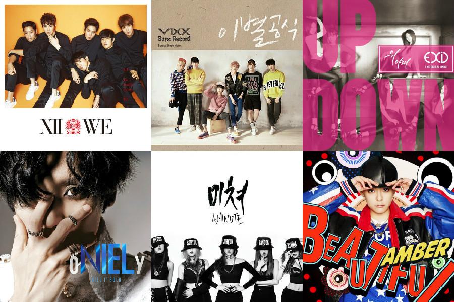 soompi kpop music chart march wk 2