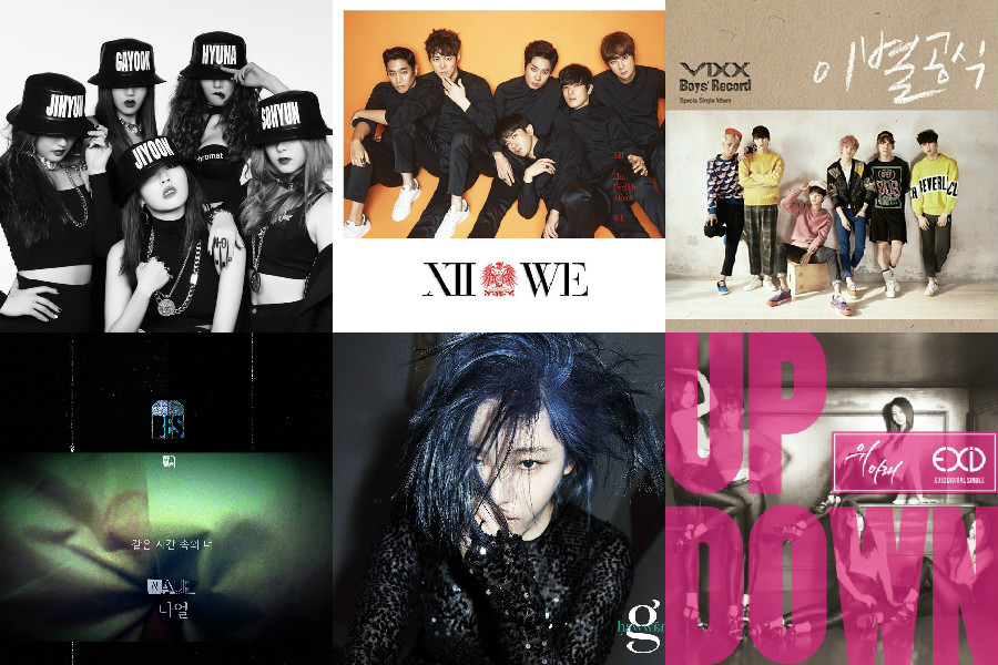 soompi kpop music chart march wk 4