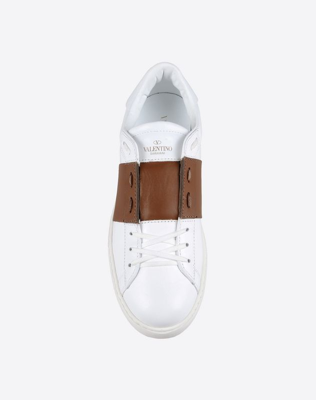 valentino calfskin sneakers