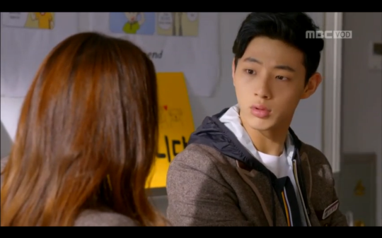 Ji Soo angry Mom