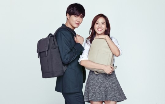 Lee Min Ho Takes Part in Couple Shoot with New YG Artist Kim Ji Soo