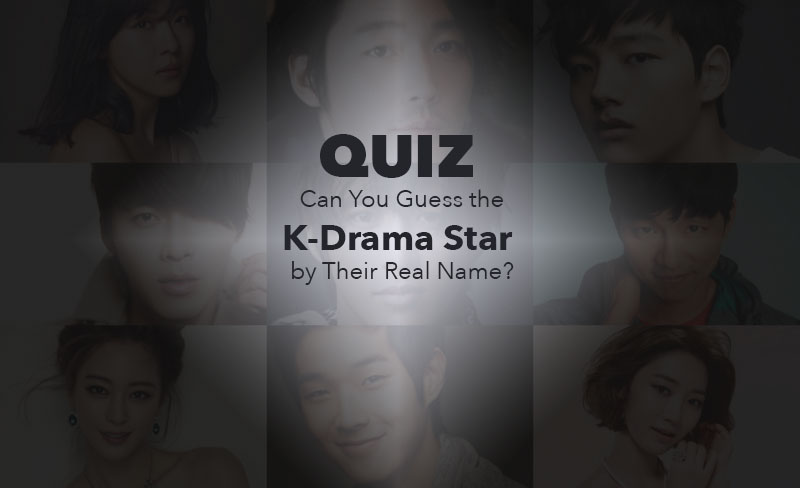 soompi quiz can you guess the k-drama star by their real name