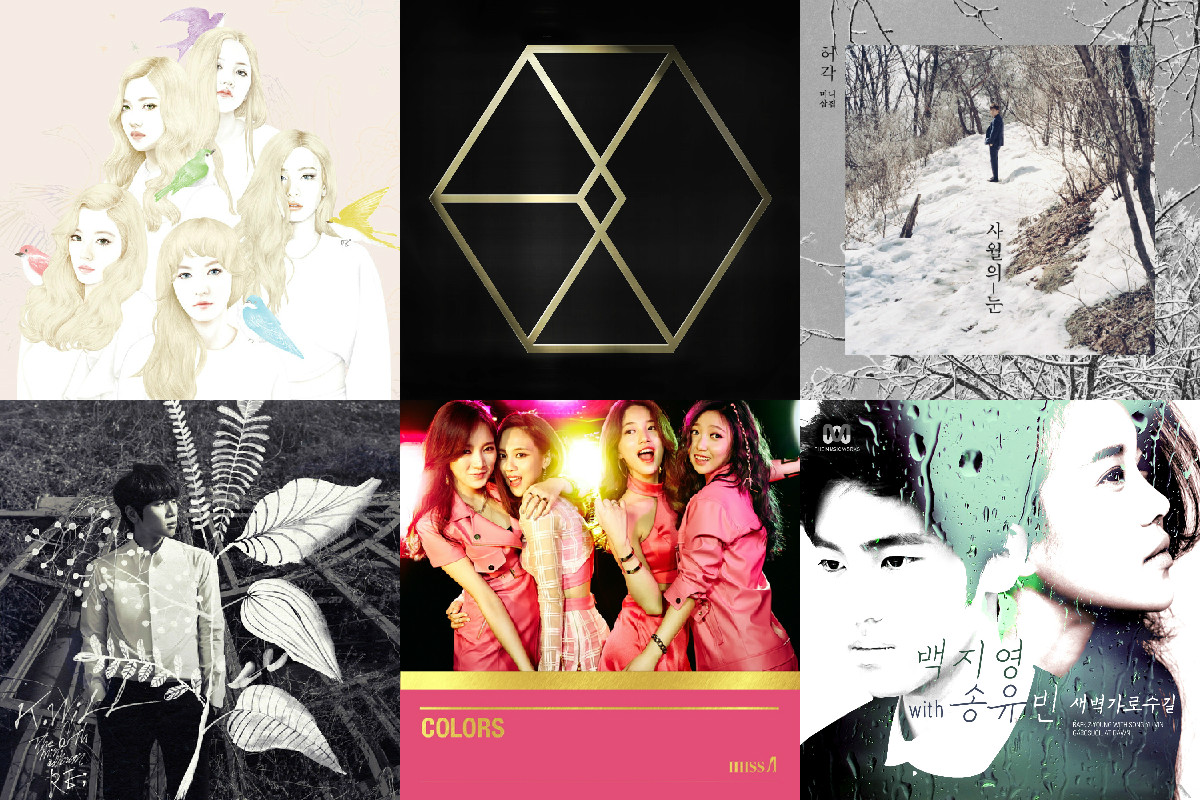soompi weekly k-pop music chart april week 3