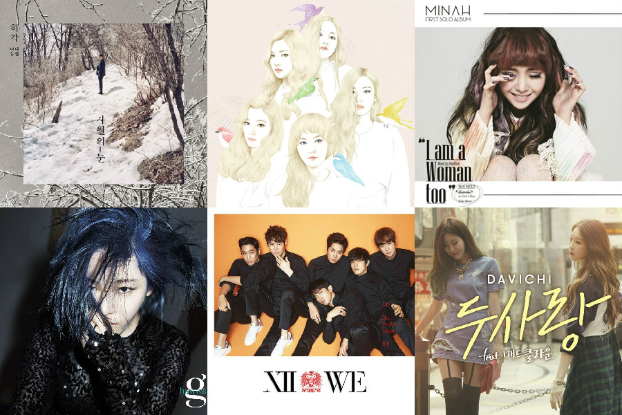 soompi weekly kpop music chart april wk 1
