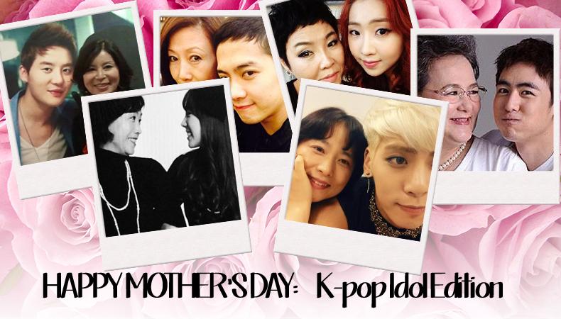 Happy Mother's Day: K-Pop Idol Edition