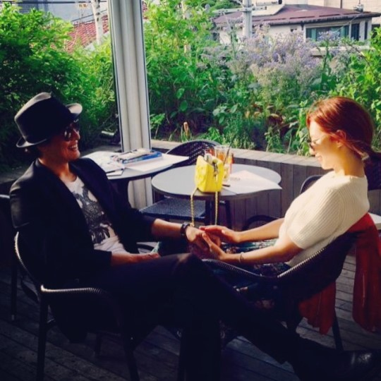 Park Soo Jin and Bae Yong Joon Expecting First Child