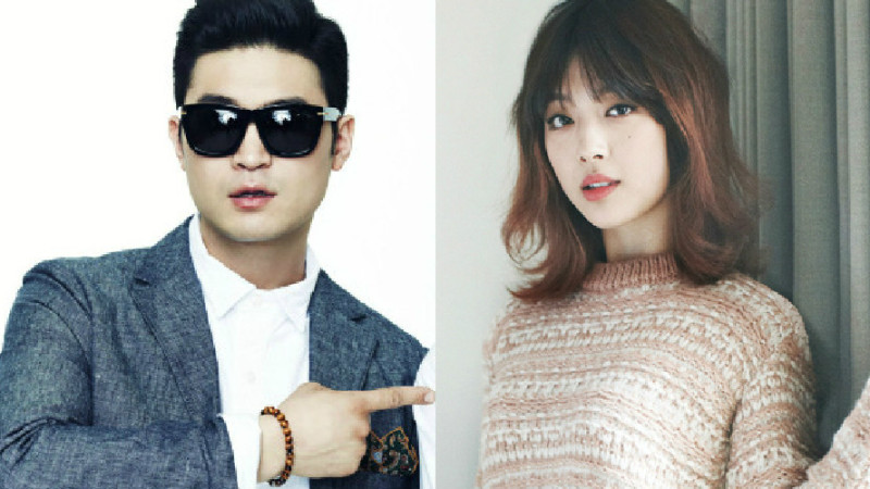 Choiza Posts Selfie With Girlfriend Sulli On His Instagram Account