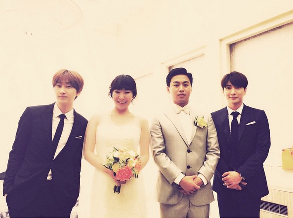 eunhyuk leeteuk jung juri wedding