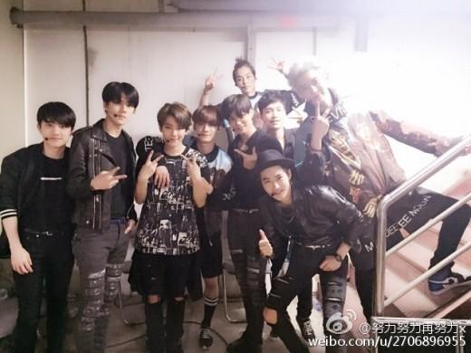 exo lay weibo