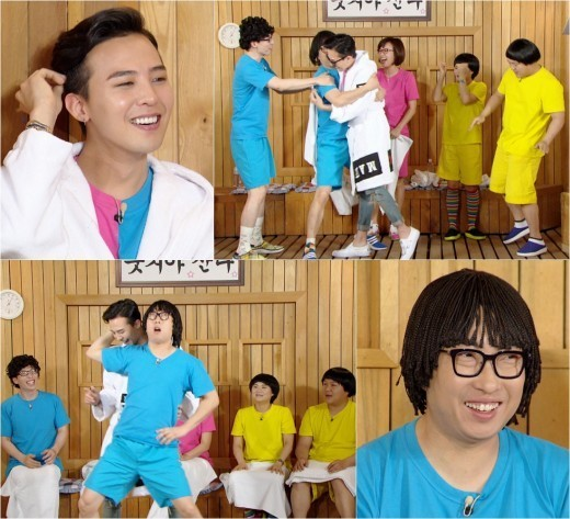 g-dragon happy together