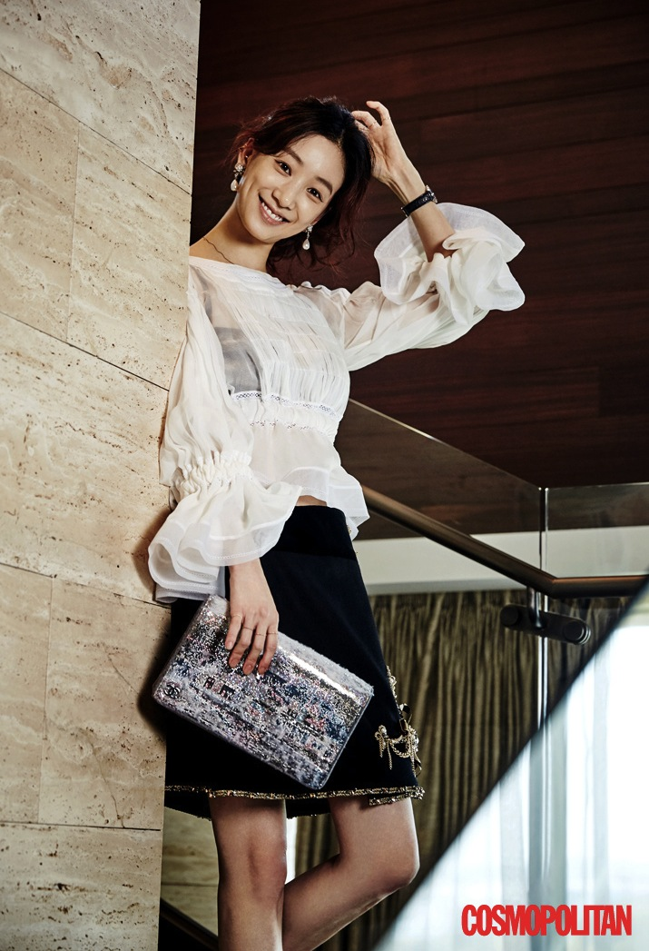 jung ryeo won cosmo 2