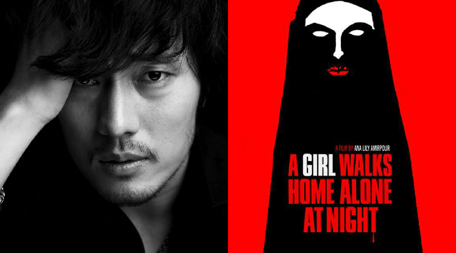 so ji sub a girl walks home alone at night