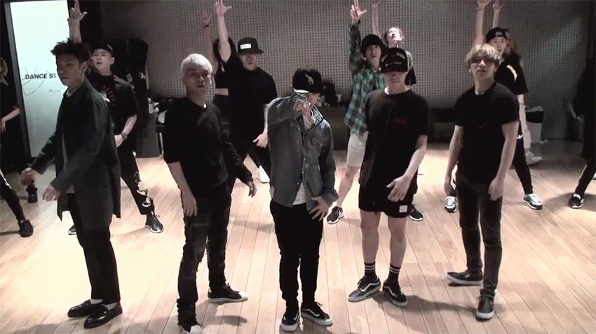 BIGBANG Bag Bang Bang dance practice