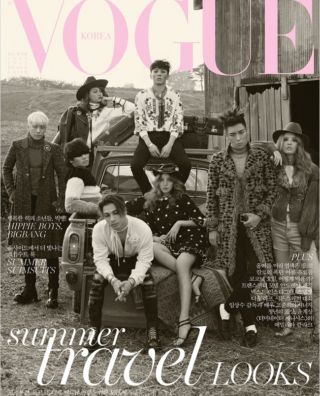BIGBANG Vogue