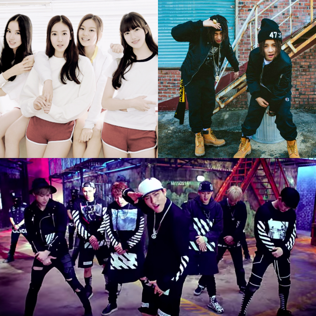 Debuting Kpop acts