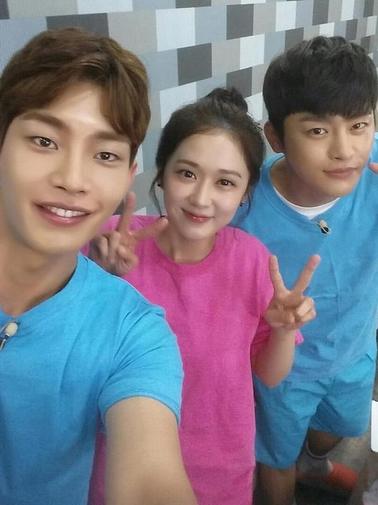 Jang Nara Seo In Guk Kim Jae Young Happy Together