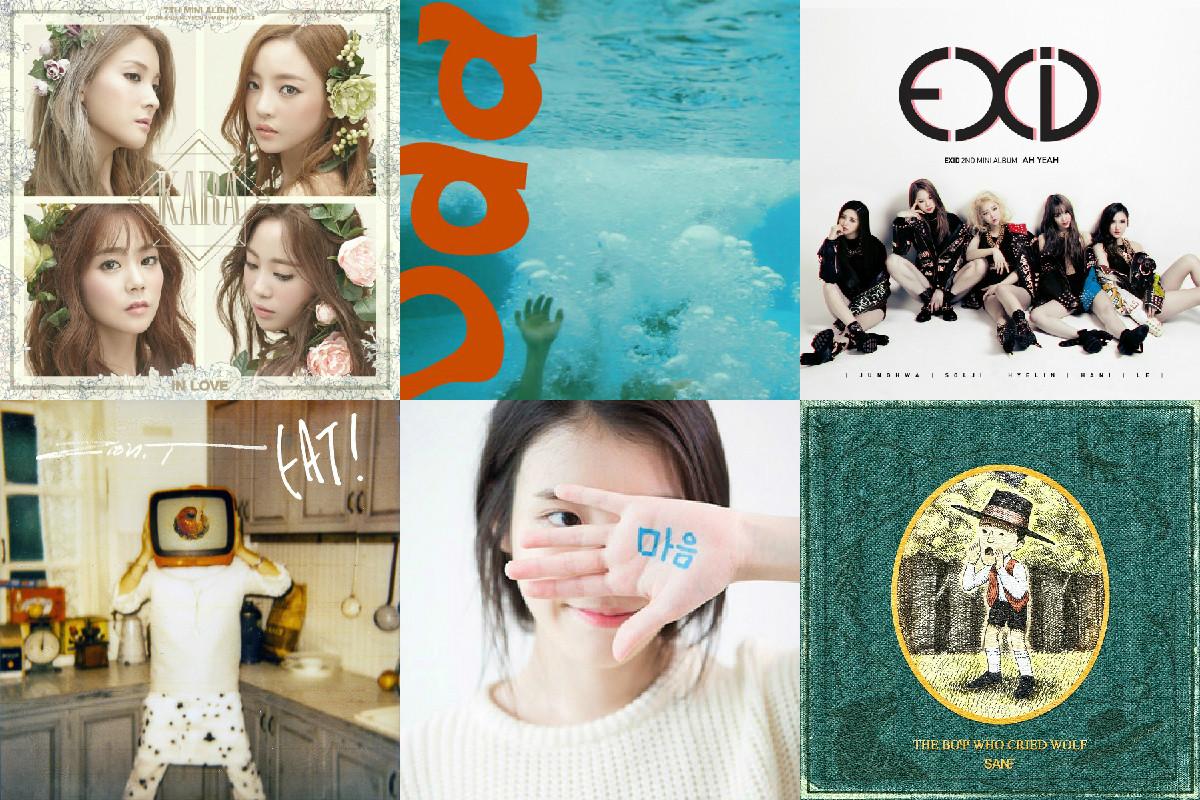 Weekly K-Pop Music Chart 2015 – June Week 2