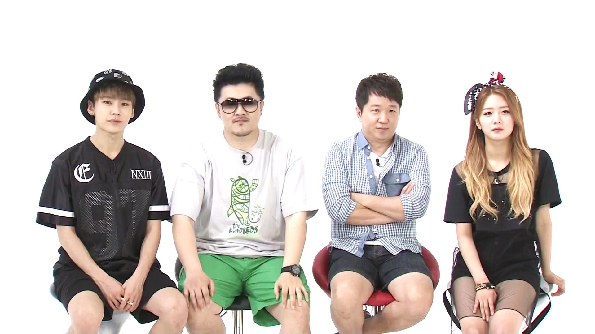 bomi ilhoon weekly idol