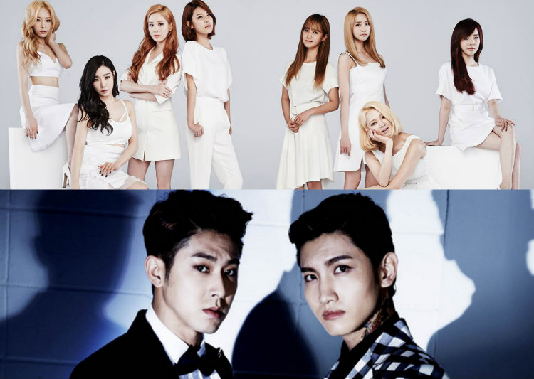girls generation and tvxq