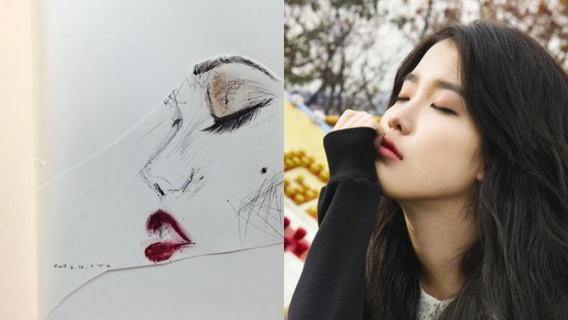 iu suzy drawing