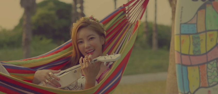 ns yoon-g Honey Summer MV teaser