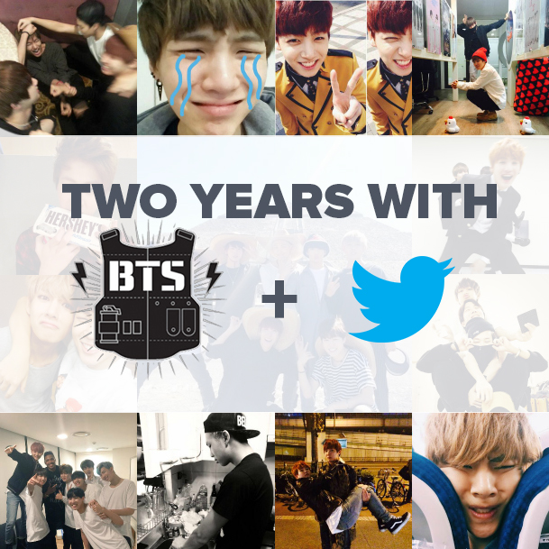 Two Years With BTS and Twitter (aka My OTP)