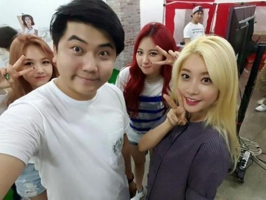 Choi Kun Girl's Day