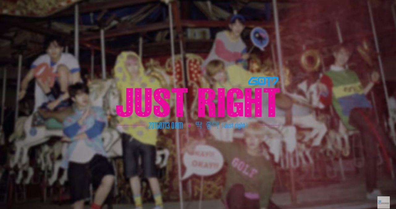 GOT7 just right