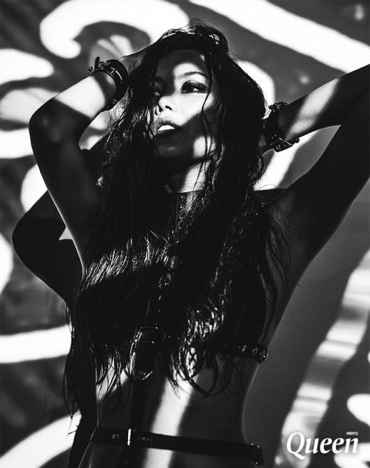 Miryo Brown Eyed Girls queen teaser image