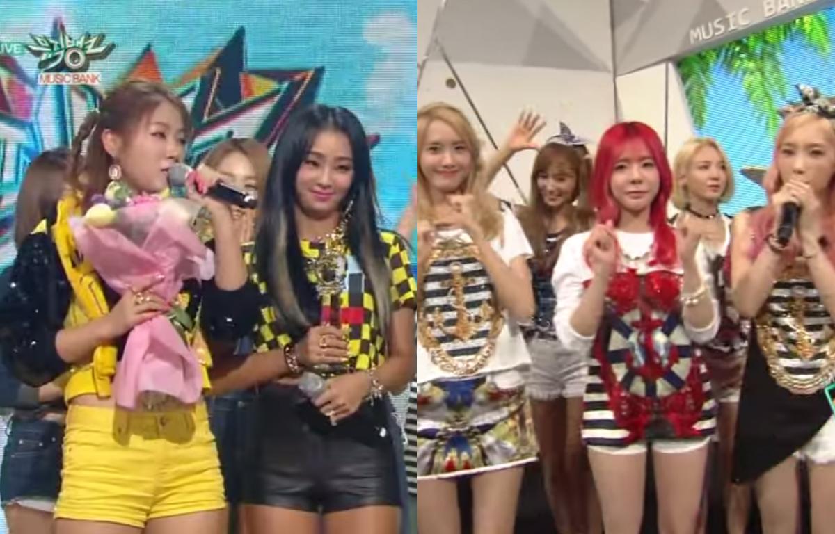 Music Bank SISTAR Girls' Generation