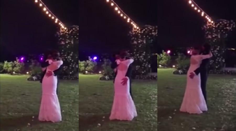 bae yong joon park soo jin wedding dance