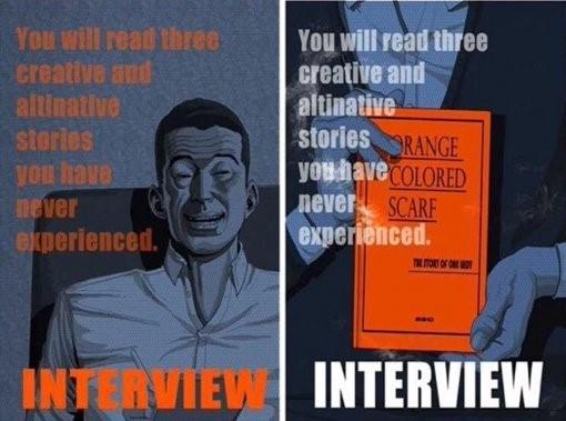 interview webtoon