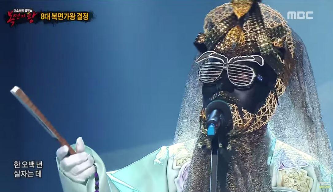 king of mask singer cleopatra 0