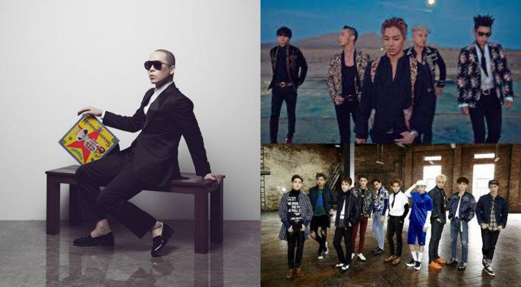 naul bigbang exo soompi gaon chart