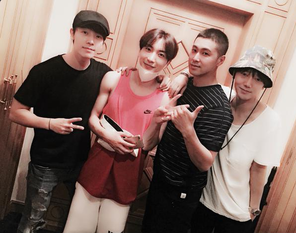 super junior tvxq yunho donghae leeteuk yesung