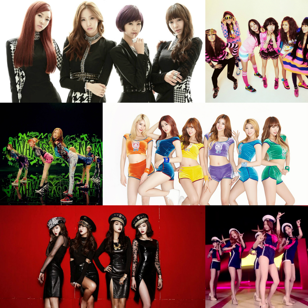 Brave Brothers produced girl groups
